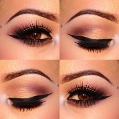 beautiful for dark eyes. love the smokey look