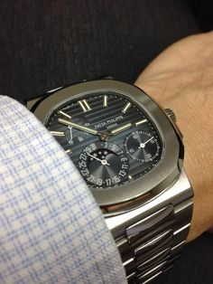 The Awesome Patek Philippe Nautilus Reference 5712 In Stainless Steel