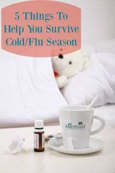 5 Things To Help You Survive Cold/Flu Season.
