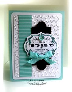 Stampin' Up! Card  by Chat W at Me, My Stamps and I (From my Heart - Stampin Up)