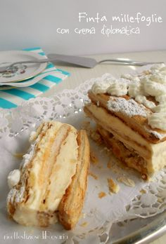 Italian Pastries, Sweet Pastries, Great Desserts, Dessert Recipes, My Favorite Food, Favorite Recipes, Sweet Cooking, Torte Cake, Food Obsession
