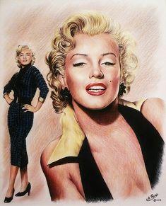 Poster A3 Marilyn Monroe Actriz Marilyn Monroe Actress Famoso Famous Cartel 10