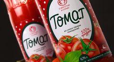 TheBestPackaging.ru – Томат – сок от Fabula Branding