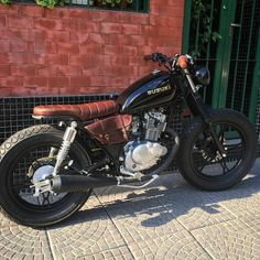 1322 Best Cafe racers, scramblers, trackers and custom motorcycles images in 2019 Suzuki Cafe Racer, Suzuki Scrambler, Suzuki 125, Cg 125 Cafe Racer, Estilo Cafe Racer, Suzuki Motos, Cafe Racer Build, Moto Bike, Cafe Racer Motorcycle