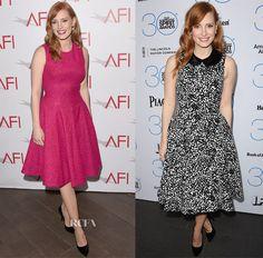 Jessica Chastain In Lela Rose & Michael Kors – 2015 AFI Awards & 2015 Film Independent Filmmaker Grant and Spirit Awards Nominees Brunch