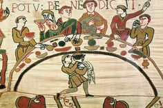 Viewing the Bayeux tapestry at the Bayeux Museum; Bayeux tapestry, c. embroidered wool on linen, 20 inches high (Bayeux Museum) By Dr. Kristine Tanton / Professor of Art History Un… Diet Drinks, Diet Snacks, Diet Soup Recipes, Healthy Dinner Recipes, Sport Food, All I Want For Christmas, Bayeux Tapestry, William The Conqueror, Diet Motivation Funny