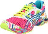 It's like a birthday cake exploded all over these:  ASICS Women's GEL-Noosa Tri 7 Running Shoe    I would probably wear them in black though.