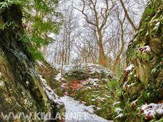 Iserlohner Klippen im Schnee