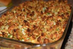 Chicken and Stuffing Casserole   The Cookin Chicks