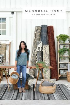 Magnolia Homes bye Joanna Gaines is now available at NW Rugs & Furniture! Magnolia Home Rugs, Magnolia Homes, Joanna Gaines Rugs, Magnolia Home Collection, Queen, Farmhouse Chic, Beautiful Children, Modern Interior Design, Interiors