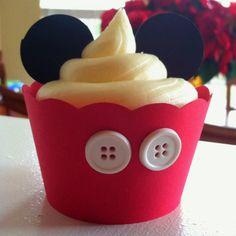 Mickey Mouse Cupcake I made.