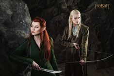Legolas and Tauriel 2 - The Hobbit cosplay (test) by LuckyStrikeCosplay on DeviantArt