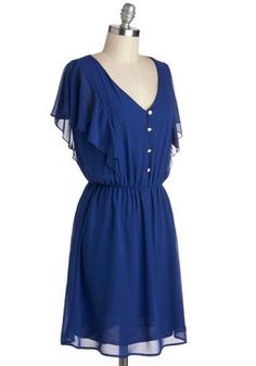 Tanzanite as Well Dress, #ModCloth