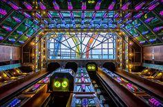 The Cruise Ship's Atrium