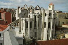 Ruínas da Igreja e do Convento do Carmo - Lisboa, Portugal