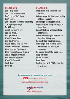 Hearts Moving Mountains: PTSD Basics