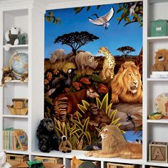 Tiger Wall Murals, Let The Jungle Roar Into Your Room. Checkout Our Tiger  Designs At Http://www.visionbedding.com/WallMurals/Tiger.php | Pinterest |  Tiger ... Part 90