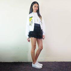 Filipino Girl, Filipina Actress, Lucky 7, Star Magic, Arab Fashion, Talent Show, Debut Album, Maya, Sequin Skirt