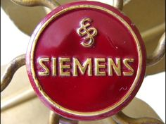 Fantastic old unique Siemens-Schuckert fan. We have exactly the same one on Only/Once – www.onlyonceshop.com