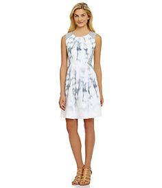 T Tahari Tyra A-Line Dress | Dillard's Mobile