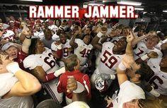 Rammer Jammer, Yellow Hammer, Give 'Em HELL Alabama!