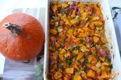 Pečené hokaido se zeleninou