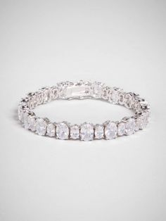 the classic tennis bracelet gets a glam update