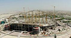 Catar anuncia pela 1ª vez a morte de operário em obras da Copa de 2022