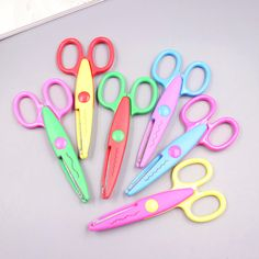 Office & School Supplies Special Section Diy Cutting Supplies Craft Scissors For Paper Border Cutter Scrapbooking Kids Gift Home Decoration 1 Pcs
