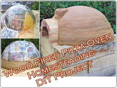 Wood Fired Pizza Oven Homesteading DIY Project Homesteading  - The Homestead Survival .Com