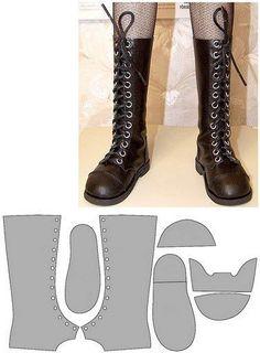 Best 12 обувь для куклы, мастер класс, выкройка