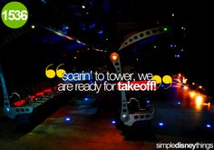 Soarin'  Just hearing the music for Soarin' gives me goose bumps.