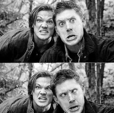 Jared Padalecki and Jensen Ackles being.Jared Padalecki and Jensen Ackles. Aka cutest little things ; Sam Dean, Dean Castiel, Sam Winchester, Winchester Brothers, Winchester Supernatural, Jensen Ackles, Jared And Jensen, Jared Padalecki, Supernatural Series