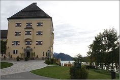 Schloss Fuschl, Hof bei Salzburg – mein Zimmer – mein Eindruck