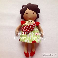 Pregnant Baby Wearing Doll - babytragen - Mummy Tummy© Doll - Dress up Doll