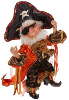 Mark Roberts Pirate Elf Medium | eBay