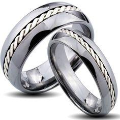 tungsten wedding bands - Google Search