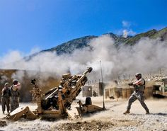 This is exactly what my love does! 777 howitzers!