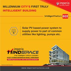 Solar PV based power System to supply power to part of common utilities like lighting, pumps etc. Smart City, Solar, Commercial, How To Apply, Pumps, How To Plan, Lighting, Light Fixtures, Pump Shoes