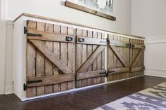 upcycled barnwood style cabinet, diy, kitchen cabinets, repurposing upcycling, rustic furniture, woodworking projects