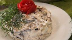 Шикарный салат из Баклажанов. Удивите всех загадочным вкусом салата! рецепт с фотографиями