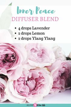 inner peace diffuser blend with lavender essential oil, lemon essential oil and ylang ylang essential oil invites online Joy Essential Oil, Essential Oil Diffuser Blends, Doterra Essential Oils, Young Living Essential Oils, Lavender Essential Oil Uses, Osho, Wells, Easy, Inner Peace