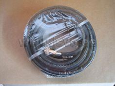 • Manguera de goma Ø6x11mm (20m) PVC negro con conectores universales • Presión máx.: 20 bar • Ref.: 8973005522 www.jsvo.es