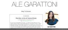 Fiquei Grávida! - Homepage do blog Ale Garattoni