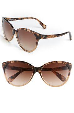 Diane von Furstenberg Cat's Eye Sunglasses-cute!