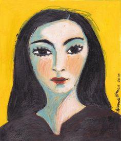 Jacqueline Roque, portrait by Picasso