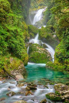 Mackay Falls - Milford Track, New Zealand