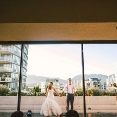 cool vancouver wedding And the awesome couples just keep on comin'! #elleandr  #vancouverwedding #vancouverwedding
