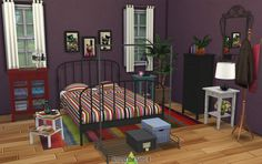Around the Sims 4 | Custom Content Download | Objects | IKEA Bedroom - Hemnes & Lillesand