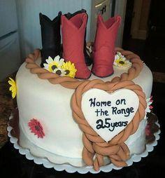 Anniversary- Western cake